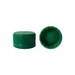 Tapa plástica 38mm linerless con banda